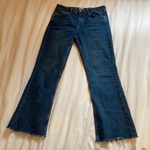 URBAN OUTFITTERS Flared high waisted jeans